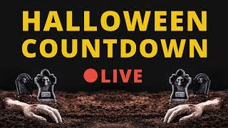 🔴 LIVE 🎃 Halloween Countdown 2019 - Interactive Stream 👻 [24/7] [EN] [Family Friendly]