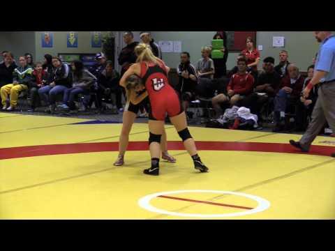 2014 Wesmen Open: 55 kg Laryssa Barry vs. Emily Kessler