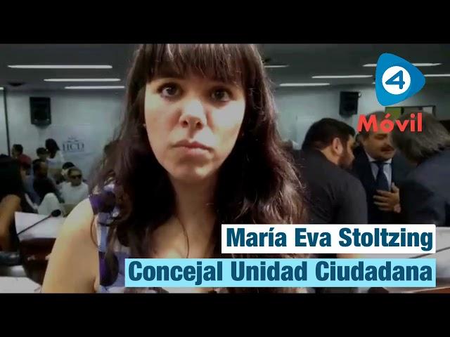 Quilmes: María Eva Stoltzing asumió su banca como concejal y habló con Cuatro Medios