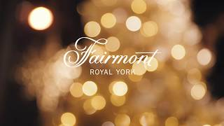 Fairmont Royal York - Tree Lighting Ceremony & Window Reveal