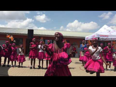 NPG Oshiwambo Cultural Dance Namibia (Olof Palme Primary School Inauguration)