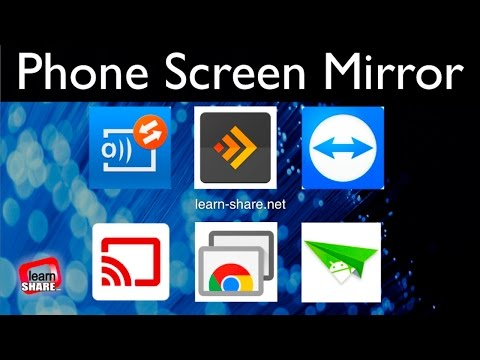 Screen Mirroring Apps - How To Share Your Smartphone Screen