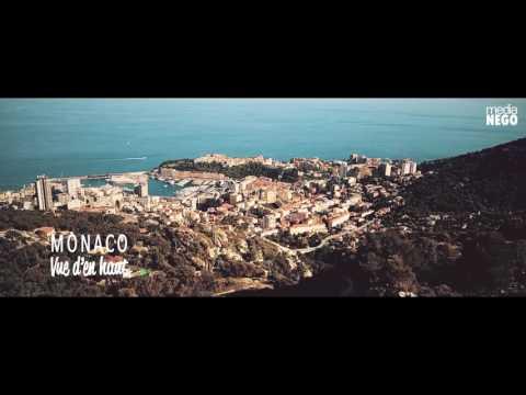 Monaco vue d'en haut Drone - Media NEGO