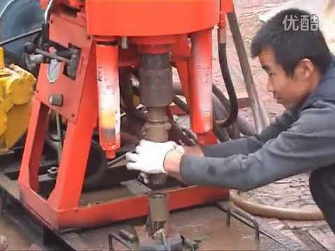 Core drilling rig field operation
