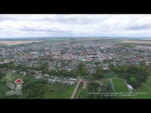 Аэросъемка города Арск