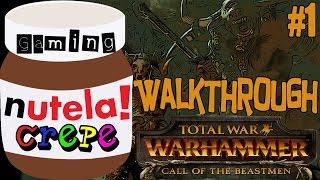 TOTAL WAR: Warhammer Call of The Beastmen DLC - Walkthrough #1 - No Commentary