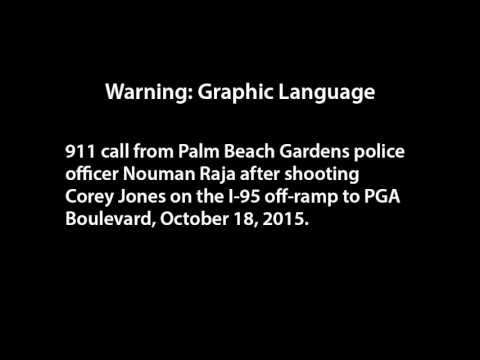 (Warning: Graphic language) 911 call from Officer Nouman Raja after shooting Corey Jones