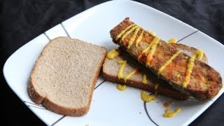 Vegan Fried Catfish Sandwich Recipe (8.17.12 - Day 5) Fried Zucchini Fish Fillet Planks