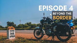 Crossing into NORTH INDIA while Making Friends- Hyderabad to Nagpur | EP 4 #BeyondTheBorder