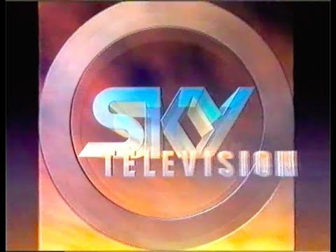 SKY TV launch promo & the new channel branding 1989