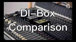 What difference does it make? - DI BOX COMPARISON ( Palmer, LD Systems, Omnitronic )