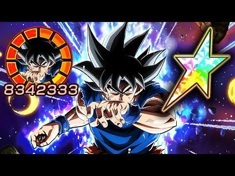 100% POTENTIAL SYSTEM LR ULTRA INSTINCT GOKU SHOWCASE! Dragon Ball Z Dokkan Battle