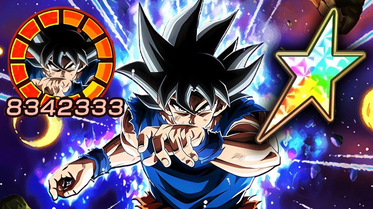 100 Potential System Lr Ultra Instinct Goku Showcase Dragon Ball Z Dokkan Battle Youtube