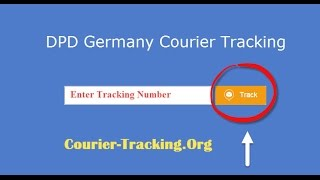 DPD Germany Courier Tracking Guide