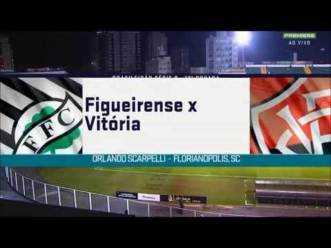 Figueirense 1 x 1 Vitória gols e melhores momentos 30/07/2019