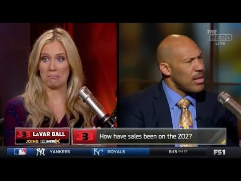 LAVAR BALL ACCUSED BY  FEMALE WHITE REPORTER OF THREATENING HER ON COLIN COWHERD'S SHOW!