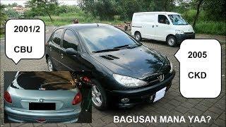 PEUGEOT 206 CKD (2005) vs CBU (2001/2) - Indonesia