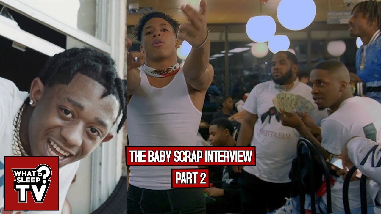 """Baby Scrap """"When I Brought NLE Choppa Around Shotta Fam They F**ked With Him Off The Strength"""""""