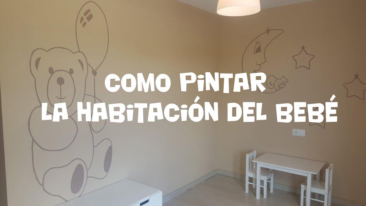 Como pintar la habitaci n del beb youtube - Ideas para pintar una habitacion de nino ...