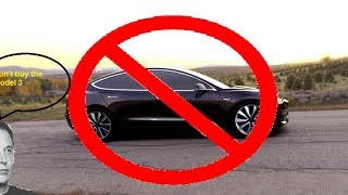 Why is Elon trying so hard to anti sell the Model 3