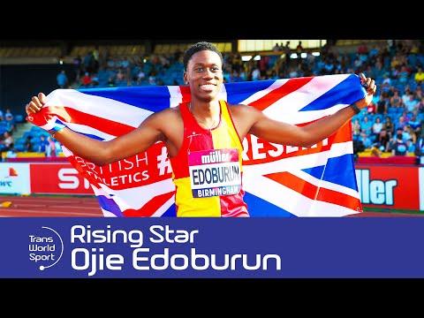 Ojie Edoburun | Rising British Sprinter | Trans World Sport