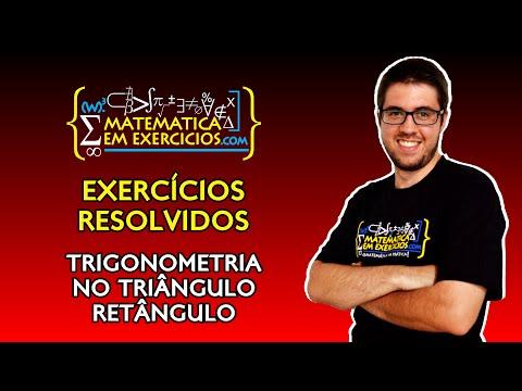 Exercícios Resolvidos - Trigonometria No Triângulo Retângulo - Prof. Gui