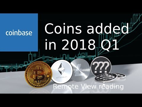 Coinbase New Coins 2018 Q1 Remote View