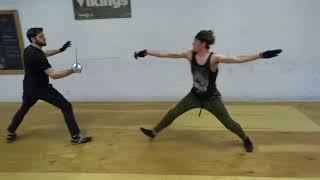 Advanced Small Sword Exam January Intensive 2018 scene Equilibrium