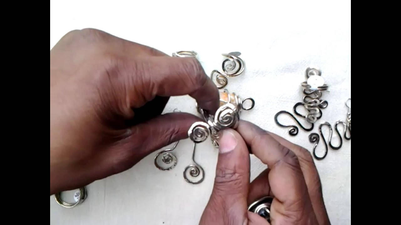Jewelry Ideas 12 Gauge Nickel, Sterling, and German Silver - YouTube