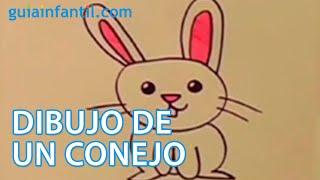 Cómo dibujar un conejo. Actividades para niños