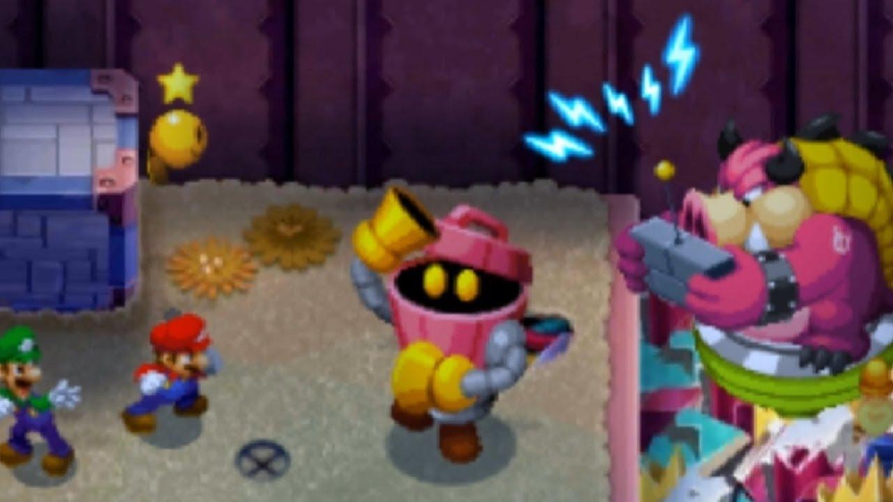 Mario Luigi Bowser S Inside Story 3ds Part 27 Into Peach S Castle