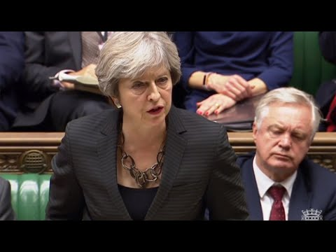 Theresa May: We are going to leave the European Union in March 2019