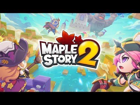 Maplestory 2 - A Fun, Free And Fully Fledged MMORPG! - GullofDoom