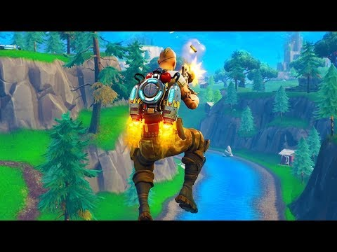 NEW JETPACK GAMEPLAY IN FORTNITE! (Fortnite Funny Fails and WTF Moments) #30