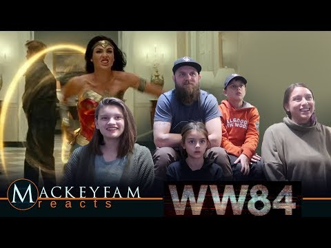 Wonder Woman 1984 – Official Trailer- REACTION and REVIEW!!!