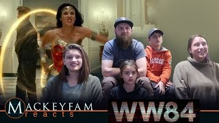 Wonder Woman 1984 - Official Trailer- REACTION and REVIEW!!!