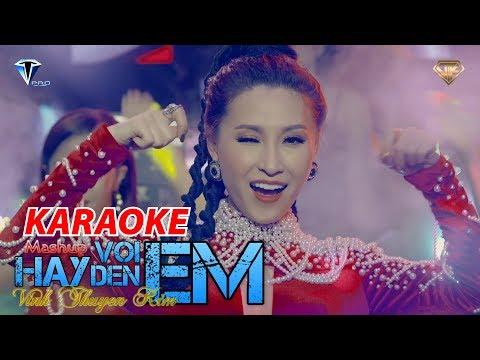 [KARAOKE] HÃY ĐẾN VỚI EM Remix - Vĩnh Thuyên Kim