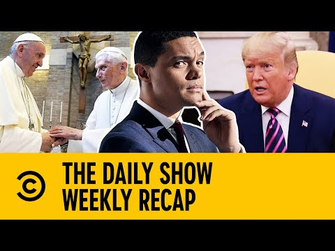 The Monday Times: Royal Summit, Democrats, Trump & Popes | The Daily Show With Trevor Noah
