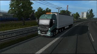 Please Subscribe For More Videos   Details & Download From http://www.modhub.us/euro-truck-simulator-2-mods/iveco-hi-way-reworked-2-9/      Mod replaces the default model of the Iveco Hi-Way - No Sidekirts - Plastic Parts - DLC Cabin ready - Disc deko  Version 2.9: - The mod is adapted to patch version 1.38 - Fixed bugs  Supported versions of the game:  1.38.x + DLC Cabin Accessories   Credit  SCS, Schumi, Oscar, Fabry85, Borsuk, abalazs, piva, Racing, nfshp253, obelihnio