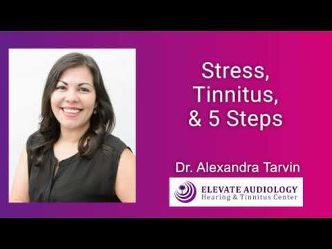 Stress, Tinnitus, and 5 Steps for Management