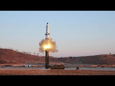 North Korean ballistic missile test an 'armed provocation' says Seoul