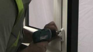 how to fit a sash jammer
