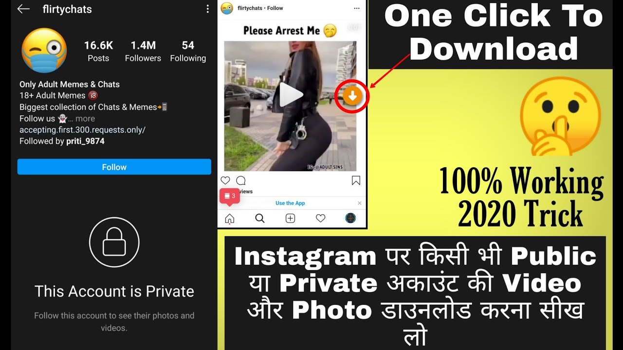 Download Videos And Photos of Any Instagram Private ...