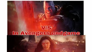 Scarlet Witch V/S THANOS FIGHT SCENE IN AVENGERS ENDGAME | SHORT CLIP SHIP