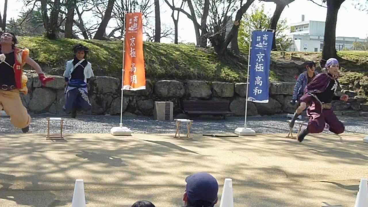 4/1① 丸亀城バサラ京極隊【OPダ...