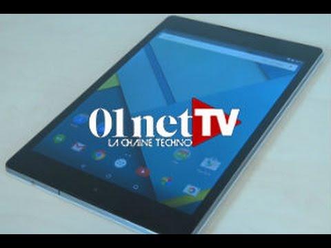 Test Nexus 9 : première tablette Lollipop signée Google
