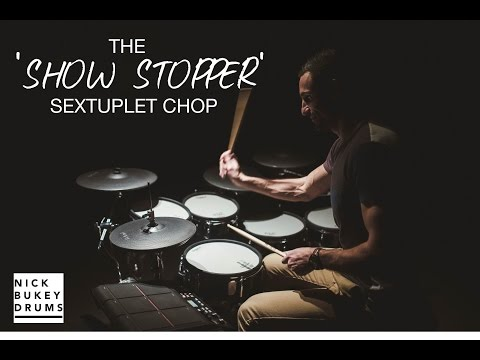 The 'Show Stopper' Sextuplet Gospel Chop Advanced Drum Lesson + Online Course Announcement