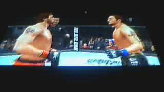 Joe Vs CPU Dan (Hard) - UFC Undisputed 2009 - PS3