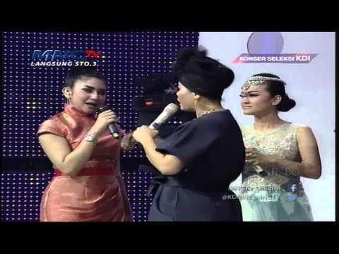 Bianca Liza Bingung Pilih Juan Rahman Atau Steve - Konser Seleksi KDI (29/3)