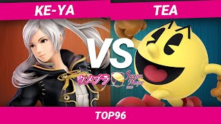 ウメブラJapanMajor2019 Top96 Winners : Ke-ya vs Tea /UMEBURA JapanMajor-スマブラSPオフライン大会 | SmashlogTV